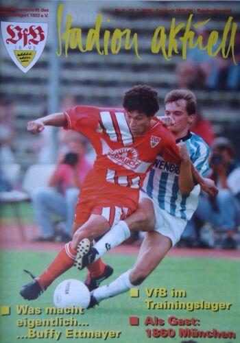 Programm 1995//96 VfB Stuttgart 1860 München
