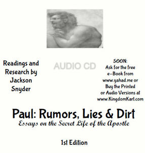 Paul-of-Tarsus-Rumors-Lies-amp-Dirt