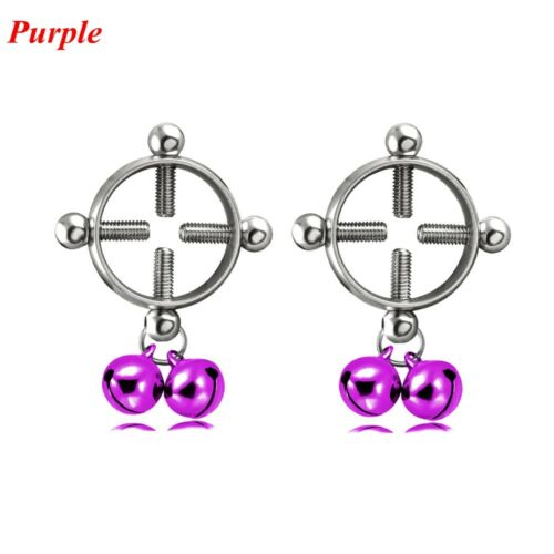 Fake Clip On Body Jewelry Fake Piercing Non-Piercing  Nipple Ring Shield