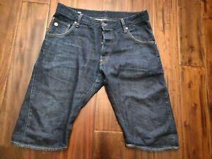 G-Star-Raw-Arc-Jean-Denim-Shorts-Men-039-s-32-Waist