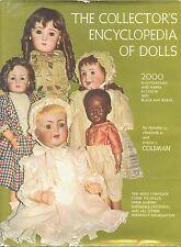 2,000 Antique Vintage Dolls - Makers Types Marks Dates /  Encyclopedia Book