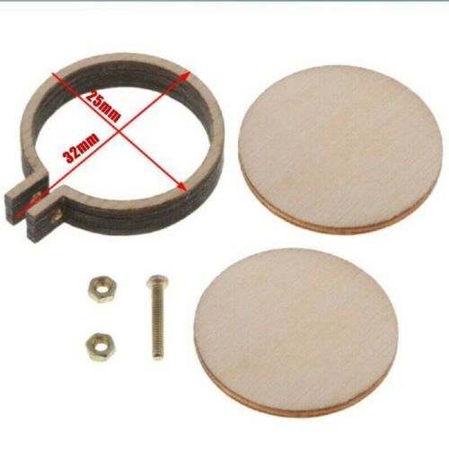 10 Pack Mini Embroidery Hoop Ring Wooden Cross Stitch Frame For Hand Crafts DIY