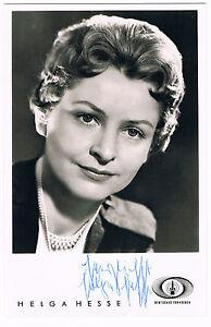 Helga-Hesse-original-signierte-Autogrammkarte-sehr-selten