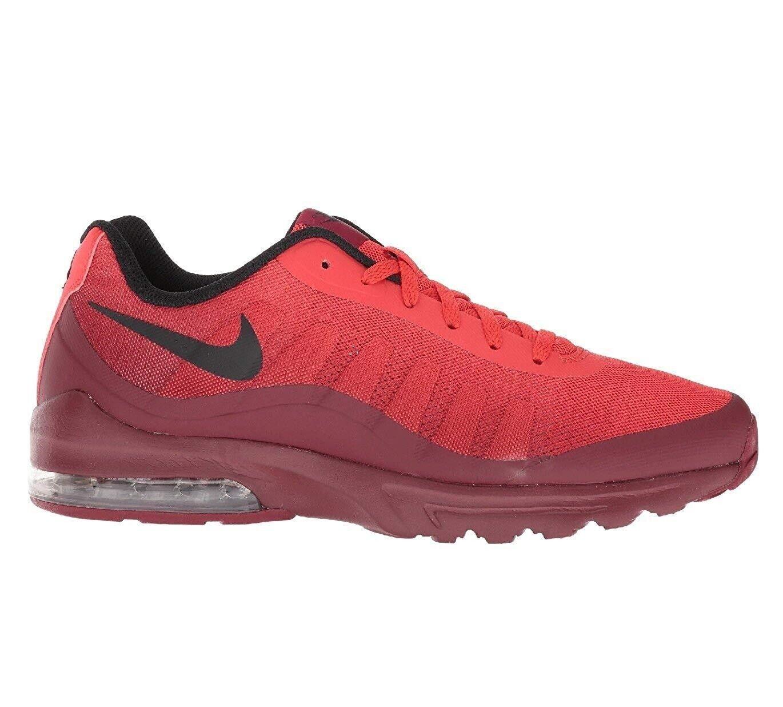 Nike Air rojo 749688 603 correr de zapatos 11.5 10.5 negro