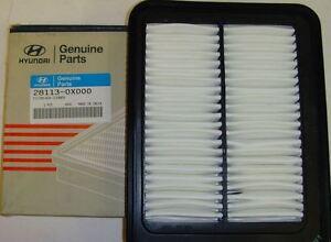 Genuine Hyundai Air Filter for i10 1.1 Petrol 2008-2013 281130X000