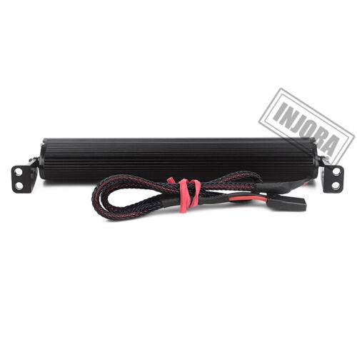 Metal 44 LED Roof Lamp Light Bar for 1//10 RC Axial SCX10 D90 CC01 Traxxas TRX4