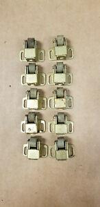 Lot-10-VTG-Cabinet-Door-Roller-Latch-Catch-National-Lock-Co-NL