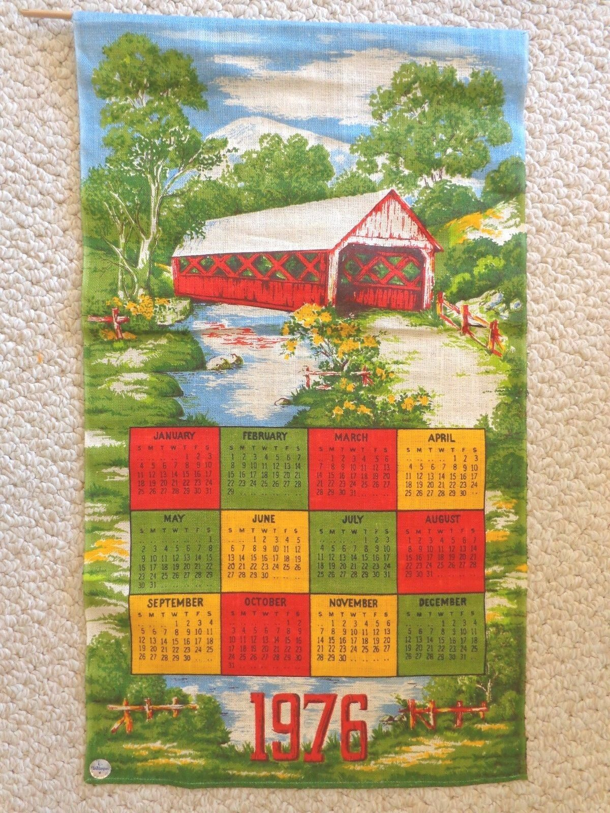 Bicentennial Stamp Collection and Cloth Calendars ( 3016)