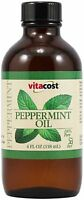 Vitacost 100% Pure Peppermint Oil -- 4 Fl Oz, New, Free Shipping