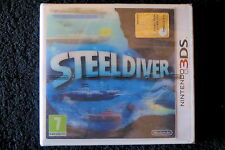3DS : STEEL DIVER - Nuovo, sigillato, ITA ! Compatibile con 2DS