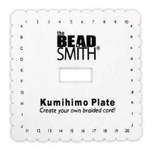 Beadsmith® Kumihimo Quadratische Platte Ein Rundes Geflecht Schaffen * Werkzeuge