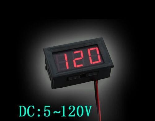 Electric Bike Battery Voltmeter Power Indicator Display 24v//36V//48V//72V//84V//96V