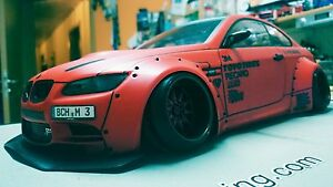 Rc Body Karo 1 10 Scale Model Bmw M3 E92 Liberty Walk To Fit Tamiya