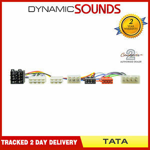 CT10TT01 Parrot SOT T-Harness ISO Wiring Loom Lead for Tata All Models