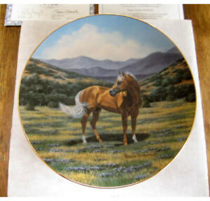 Pamela-Wildmuth-American-Gold-The-Quarterhorse-Collectors-Plate