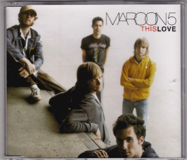 Maroon 5 - This Love - CD (octone 3 x Track Australia)