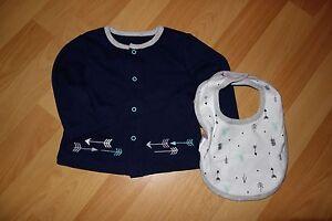 NEU Baby Design Jacke Größe 62/68 & Halstuch Spucktuch blau und weiß - Stuttgart, Deutschland - NEU Baby Design Jacke Größe 62/68 & Halstuch Spucktuch blau und weiß - Stuttgart, Deutschland