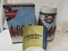 2009 Budweiser Holiday Stein by Ceramarte