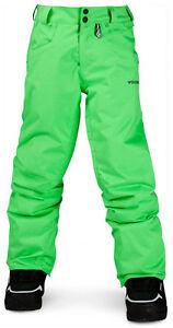 Pantaloni-da-Sci-e-Snowboard-Neve-Bambini-Volcom-Battlefield-Ins-Pantaloni-Erl