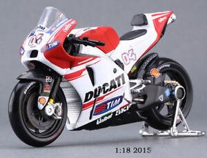 1-18-MOTO-BIKE-pour-DUCATI-No-04-Andrea-Dovizioso-Moto-Diecast-Enfants-Jouet