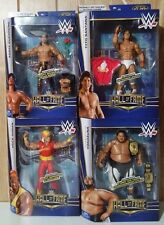 WWE Elite Hall of Fame HOF Set Hulk Hogan Yokozuna Tito Santana Eddie Guerrero