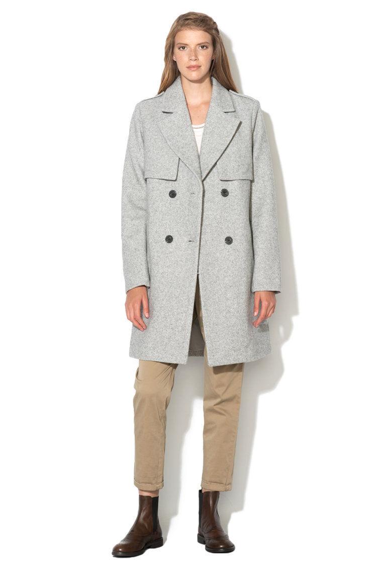 Vila Light Grey Coat Size Small rrp  DH089 LL 10