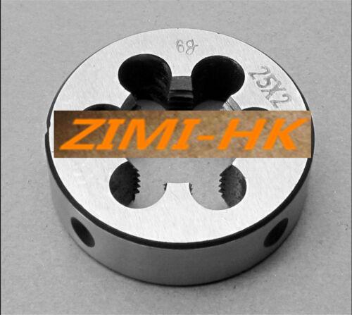 25mm x 2 Metric Right hand thread Die M25 x 2.0mm Pitch 1pcs