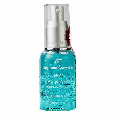 Holy Land H2O Magic Moist gel / Oil free moisturizer + 3 samples