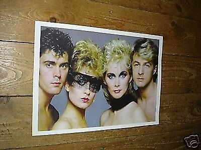 Bucks Fizz Eurovision New Poster Sitting
