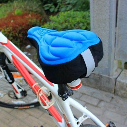 Comfortable Bicycle Seat Cover Bike Saddle Cycling Case Soft Cushions Exercise