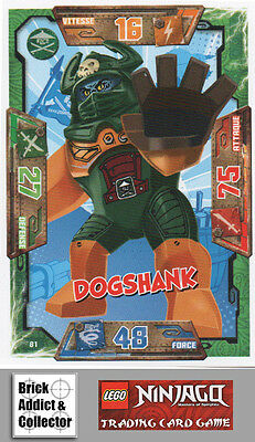 liste LEGO ® Ninjago ™ série 2 /_ trading card game /_ 4 Base Cartes choisir