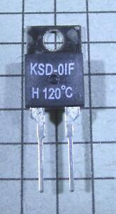 1 Piece Thermostat switch KSD9700 100ºC 212ºF  N.C NC Temperature BiMetal C25