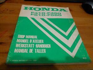 Honda oem parts list catalogue f410 f460 f510 f560.