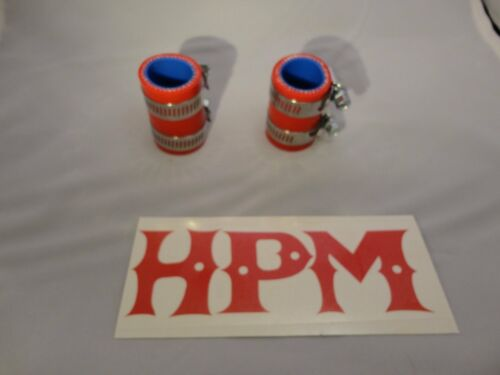 "HPM 5 Ply /"" RED /"" BANSHEE 1/"" Exhaust Couplers"