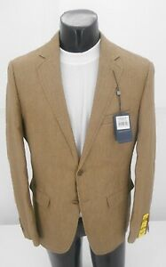 15ce17edfb5b Daniel Hechter Medium Tan Linen Sport Coat Jacket Retail $160 NOW ...