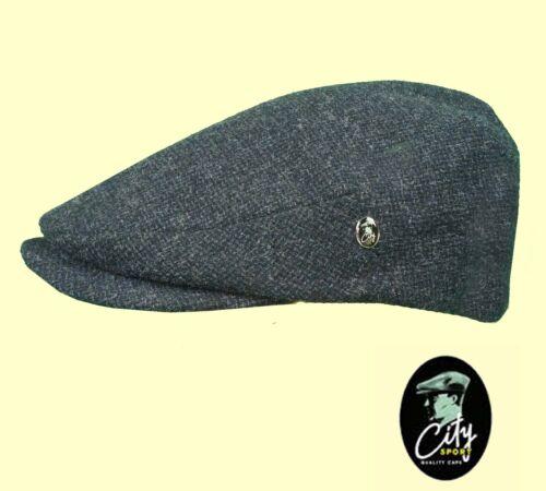 CITY SPORT Cap Wool Tweed Cashmere Large Peak 1920/'s Cap Sizes 56 to 61cm