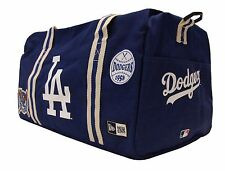 Los Angeles LA Dodgers New Era Heritage Patch Small Duffel Duffle Bag Blue MLB