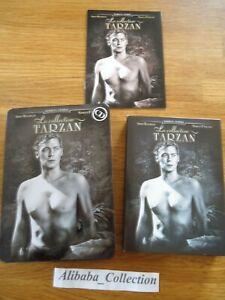 DVD-Estuche-Coleccionista-Metal-Tarzan-4-DVD-6-Peliculas-Coleccion-Weissmuller