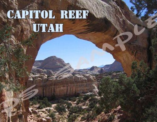 CAPITOL REEF Utah Travel Souvenir Flexible Fridge Magnet