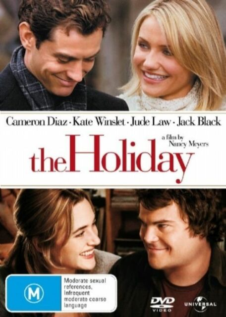 THE HOLIDAY DVD=CAMERON DIAZ-JACK BLACK=REGION 4 AUST=NEW AND SEALED