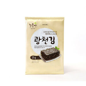 Nuelpumae-Korean-Traditional-Roasted-Gwangcheon-Seaweed-Laver-Snacks-25g-4ea