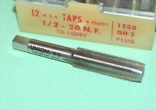 1//2-20 HSS Left Hand 4 Flute Plug Tap