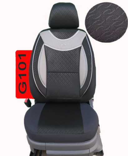 FORD FOCUS Schonbezüge Sitzbezug Sitzbezüge Fahrer /& Beifahrer G101
