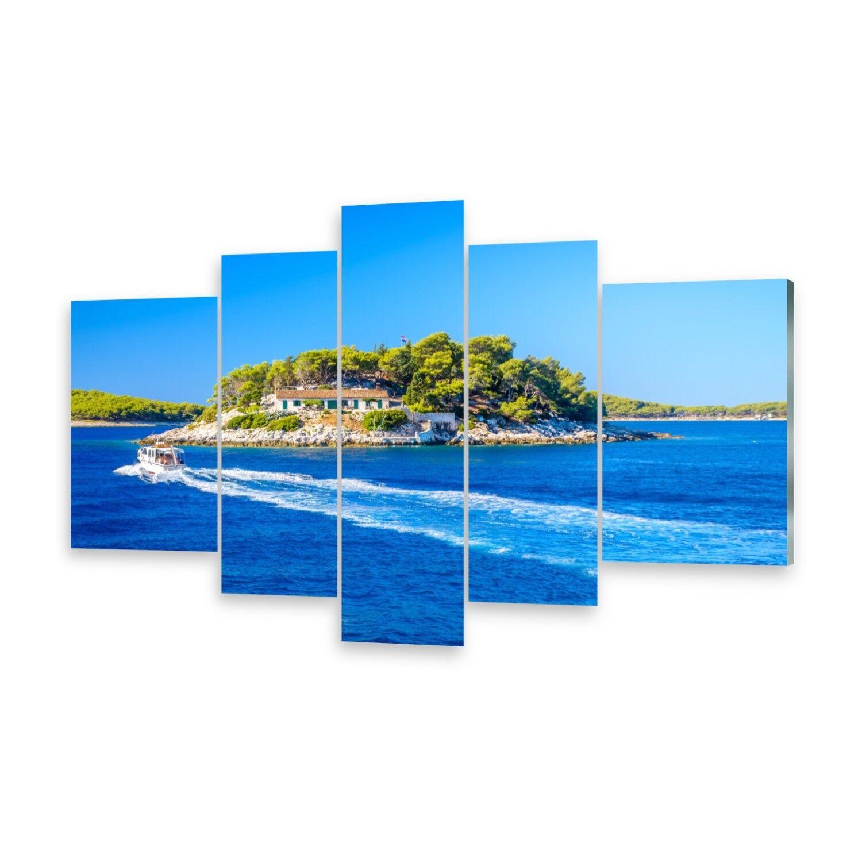 Mehrteilige Bilder Acrylglasbilder Wandbild Adria Meer