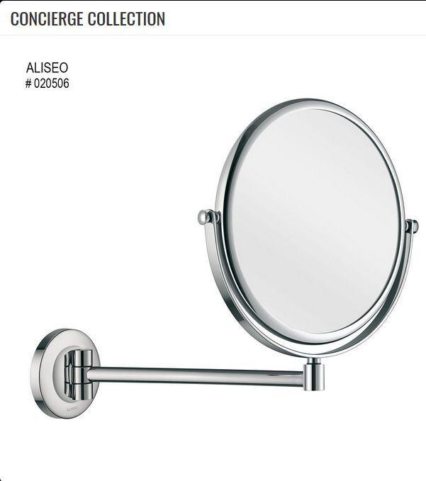 Aliseo Concierge Collection Schwenkarm Kosmetik- Rasierspiegel unbeleuchtet