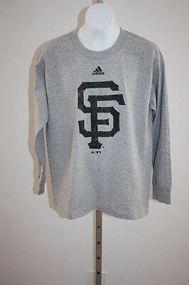 Weitere Ballsportarten Fanartikel Neu San Francisco Giants Jugendliche Mittelgross M 10/12 Adidas Langarm Shirt Zahlreich In Vielfalt