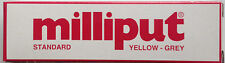 Milliput estándar Amarillo Gris 2 parte expoxy masilla de relleno reparación Modelo 113.4 G
