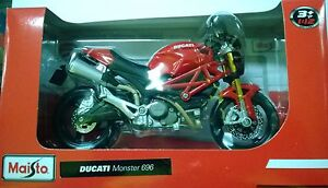 MAISTO-1-12-MOTO-DUCATI-MONSTER-696-ART-31101