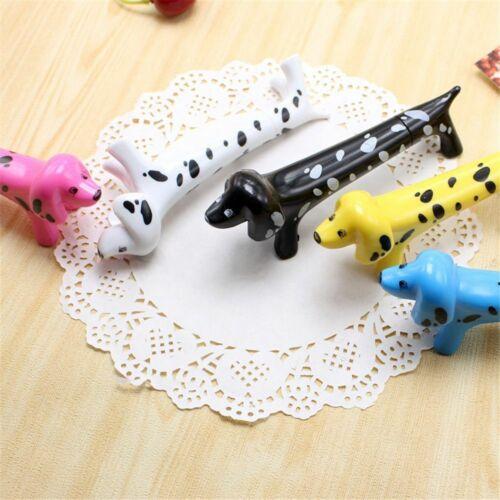 1pcs Cartoon Spotty Dog Ballpoint Pen Kawaii Roller Ball Pen Cute Signature Pen