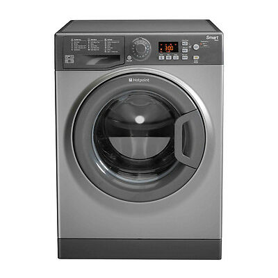 HOTPOINT WMFUG742G Smart Washing Machine - Graphite - Currys